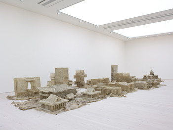 Exhibition view of 'The Revolution Continues: New Chinese Art' , 2008 – 2009