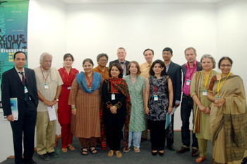 The participants and organizers at 'The Anxious Century' seminar.