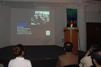 Sasanka Perera's talk.