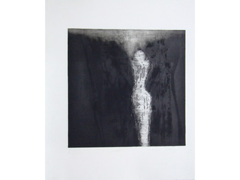 Photo of Women I, 1990, Resin and etching ink on zinc, courtesy of 100 Tonson Gallery.