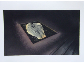 The Birth II, 1989, Photo etching, hardground, relief etching andaguatint, courtesy of 100 Tonson Gallery.