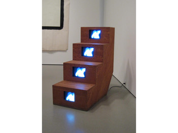 Kubota Shigeko, Duchampiana: Nude Descending a Staircase, 1976 (coll. MoMA),