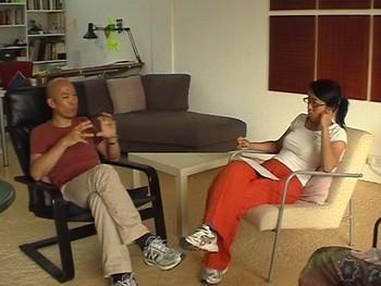 Image: Screenshot of AAA interview with Leung Chi Wo and Sara Wong Chi Hang.