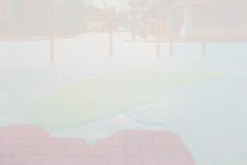Image: Chan Yi-ting, <i>Asphalt Island I</i>, 2020, screenprint, 50.5 x 70.5cm. Courtesy of the artist, Koel Chu, and Hong Kong Open Printshop.