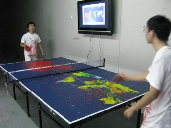 Li Qing, Ping-pong, 2008.