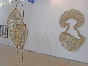 Works by Sopheap Pich.