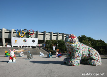 Image: 2009 Seoul Design Olympiad, '88 Seoul Olympic Stadium. Courtesy of East Bridge, http://www.east-bridge.net/