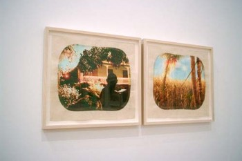 Tracey Moffatt, Diptych no.2 (from Plantation series), 2009, digital prints