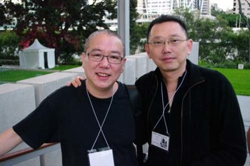 (Left-right) Chen Chieh-jen, Yao Jui-chung