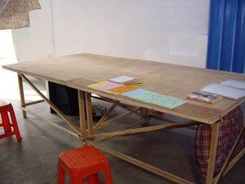 Koki Tanaka, Working Table, 2009, wood