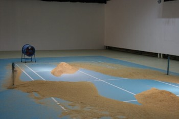Li Xiaofei, Why do we always forget when we try to remember?(direct translation), 2009, installation