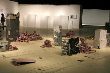 Xu Zhiqiang, Dictionary for broken pieces (direct translation), 2009, installation