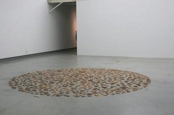 Li Jinghu, Counting Stars, 2009, tiles