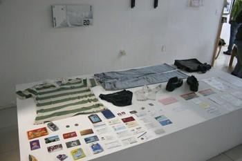 Liu Chuang, Buying Everything from You (Huang Wei), 2006-2007, installation