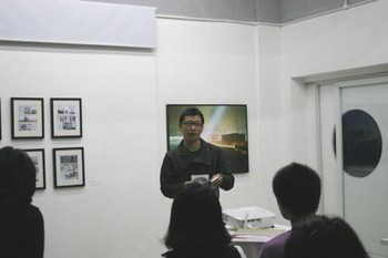 Artist Bai Xiaoci