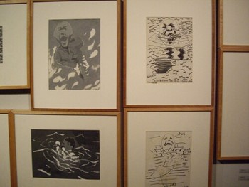 Some of Fang's early prints from 1995