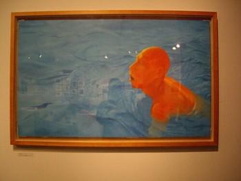Fang Lijun, 1995.1, 1995, oil on canvas, 70x116cm