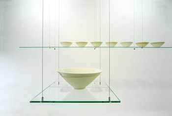 Soramimimisora (hearing things), 2005, ceramic, glaze, mixed-media, sound installation, courtesy the artist and Mizuma Art Gallery.<br/> Photogarph Hatakeyama Takashi.
