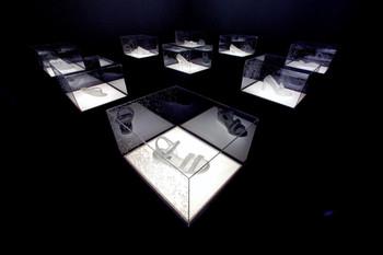 Installation view of As Slumber Arrives, 2003, naphthalene, mixed-media, courtesy the artist and Mizuma Art Gallery.Photograph Hatakeyama Takashi.