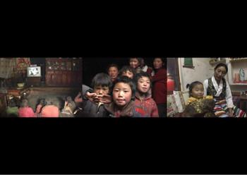 Family Script, 2007, three-channel video