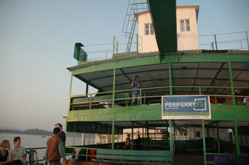 'Periferry1.0', First International Residency at Periferry, barge M.V. Chanderdinga, organised by De