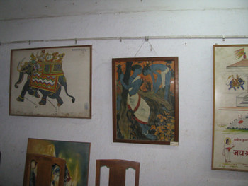 Image 19: several paintings by Bendre