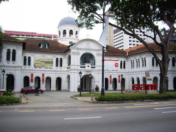 Singapore Art Museum (SAM), the main museum building.