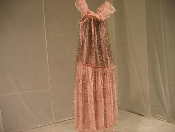 Pink dress, 2005, needle & pick dress