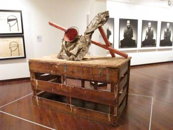 Montien Boonma, Thailand, Venus of Bangkok, 1991-1993, packing crate, bucket, scrap metal, sponge.