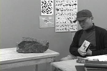 Video still of A Rock that was Taught It was A Bird, courtesy of the artist