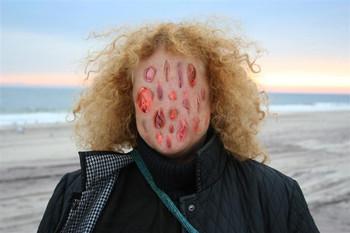 Kunst face, 2007, photograph