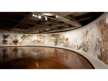 Image: Cai Guo-Qiang, <i>Day and Night</i>, 2009, installation at Taipei Fine Arts Museum.
