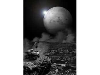 Image: Kuo I-Chen, <i>33 N, 35.3 E</i>, from the <i>Survivor</i> series, 2007, digital image.
