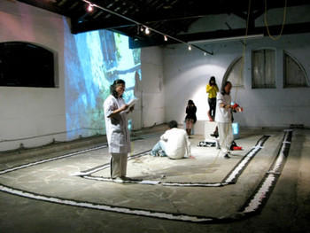 Macau International Performance Art Festival (MIPAF) 2010, a two-day performance event held at the Ox warehouse, Macau