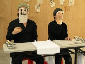 Sylvette Babin, Untitled, performance
