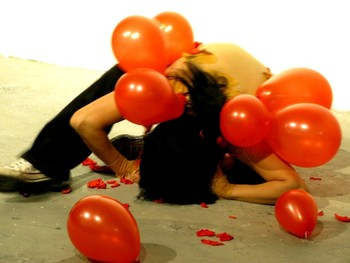 He Chengyao, Untitled, performance