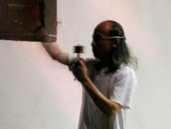 Liu Cheng Ying performing