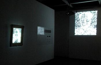 Jaewook Shin, Afterimage - Mind Frame II, 2006-Present, multi-media installation, Microwave International New Media Arts Festival 2010