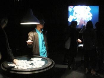 Geoffrey Alan Rhodes, 52 Card Cinema: '52 Card Psycho' & 'ARambo', 2009, interactive installations