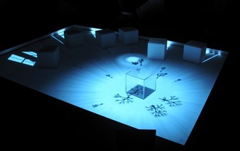 Joon Moon, Augmented Shadow, 2010, interactive installation