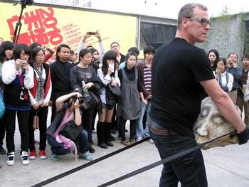 Joakim Stampe, Untitled, performance