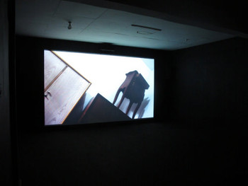 Installation view, Tromarama, Pilgrimmage, 2011, audiovisual installation