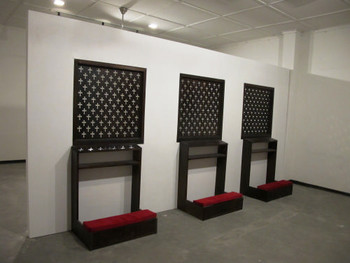 Installation view, Ariadhitya Pramuhendra, End of Negotiation, 2011, mixed media installation