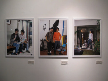 Installation view, Paul Kadarisman, Mohammad and Me, 2006, pigment prints, 3 photographs, 60 x 80 cm each