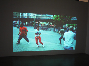 Alicia Frankovich, Volution, 2011, single-channel video projection transferred from 35mm, color, sound, 2 min 41 sec