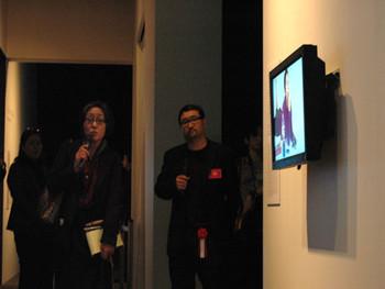 Artist Hiroharu Mori talks about his work