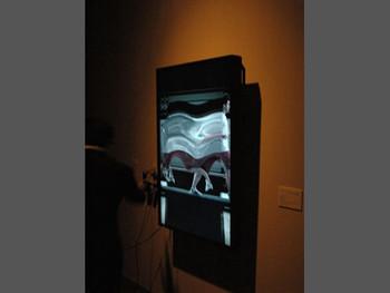 Daniel Crooks, Static No. 11 (man running), 2008, HD (portrait), Blu-ray, sound, color, 4 min 32 sec