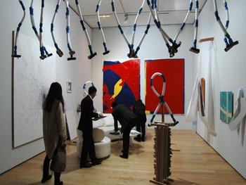 Installation view, Kodama Gallery (Tokyo) showcases Maoya Kishi, Masahiro Sekiguchi, Mayuko Wada, and Shuhei Yagi's work at G-tokyo