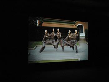 Daniel Crooks, Static no. 12 (seek stillness in movement), HD, Blu-ray, sound, color, 5 min 28 sec