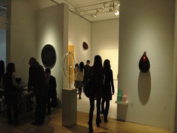 Installation view, SCAI the bathhouse showcases Natsuyuki Nakanishi, Anish Kapoor, Tatsuo Miyajima, Tsutomu Yamamoto, and Daisuke Ohba's work (curated by Daisuke Ohba) at G-tokyo